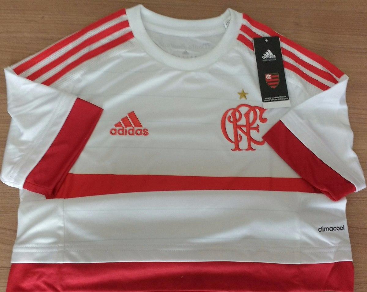 59e86dbc35 Camisa Do Flamengo Feminina Original adidas Climacool - R  89