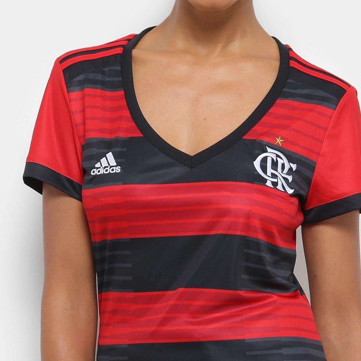 d110e04abd Camisa Flamengo Feminina adidas ( Pronta Entrega ) 2018-19 - R  135 ...