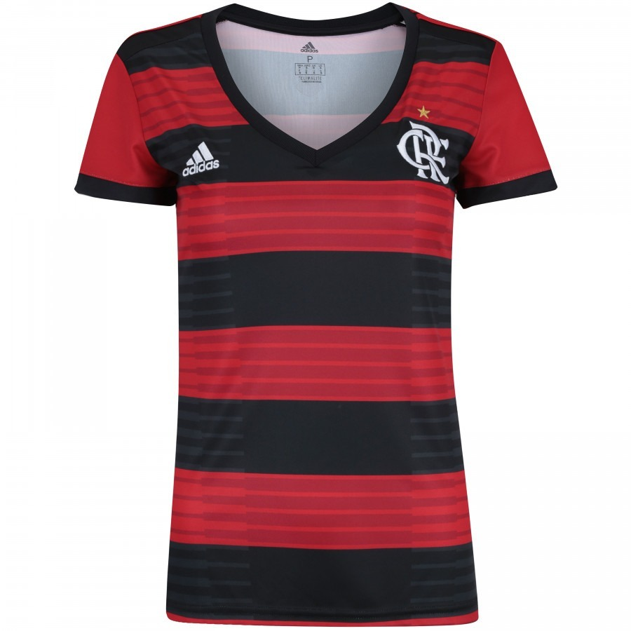Camisa Do Flamengo Feminina Baby Look Fla Nova Mulher Time - R  118 ... 09799de350045