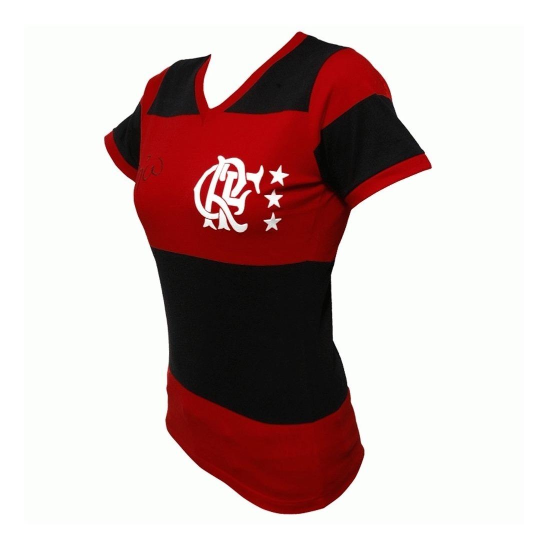 5876ec5071 camisa flamengo feminina retro baby look 1981 zico libertad. Carregando  zoom.