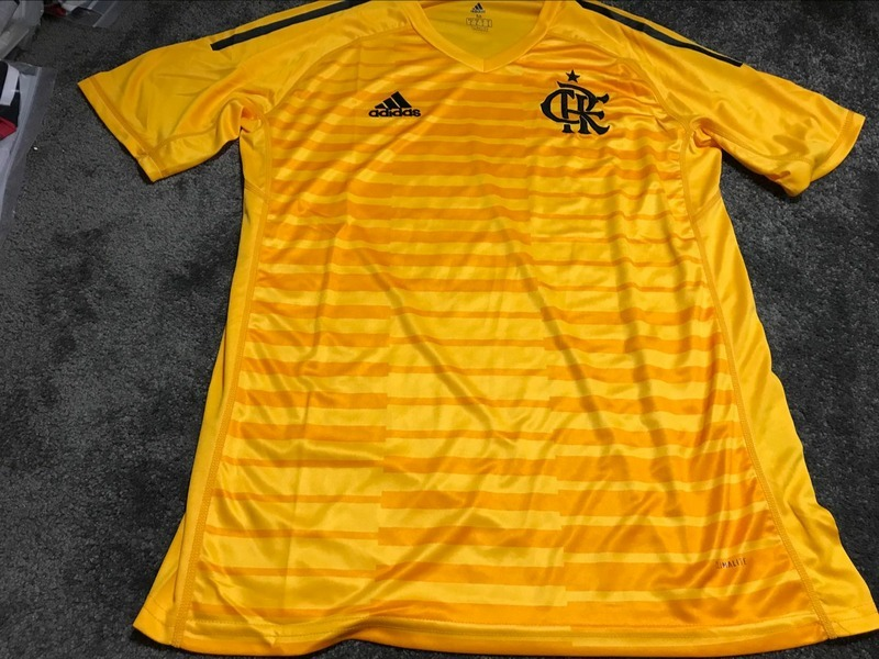 camisa flamengo goleiro 18-19 masculina importados tay. Carregando zoom. b01ed57a915d3