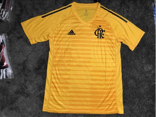 Camisa Flamengo Goleiro 18 19 - R  180 87e28e10f5ef4