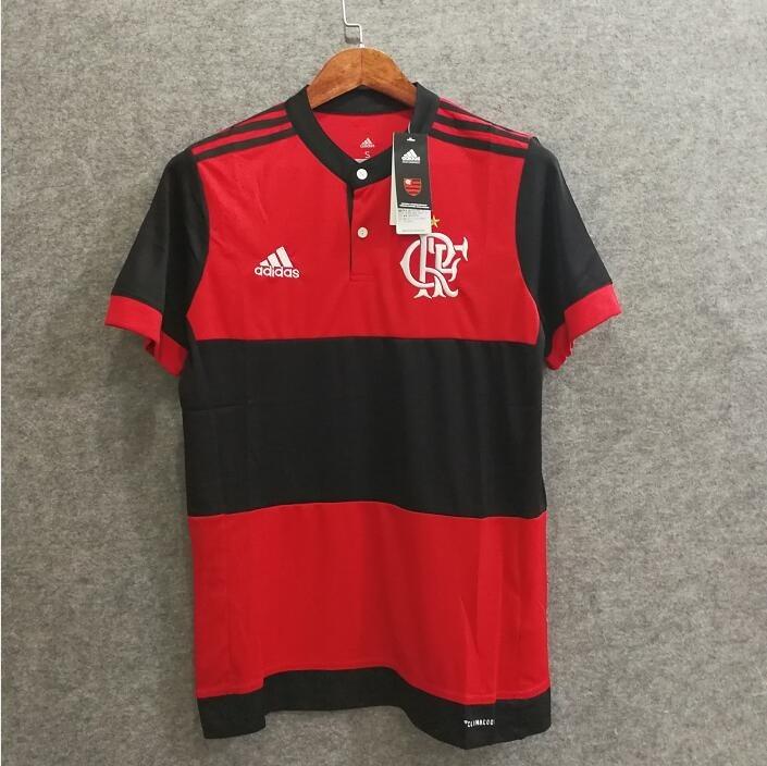 b6d207d6bb6 Camisa Flamengo I 17 18 S nº - Torcedor adidas Masculina - R  90