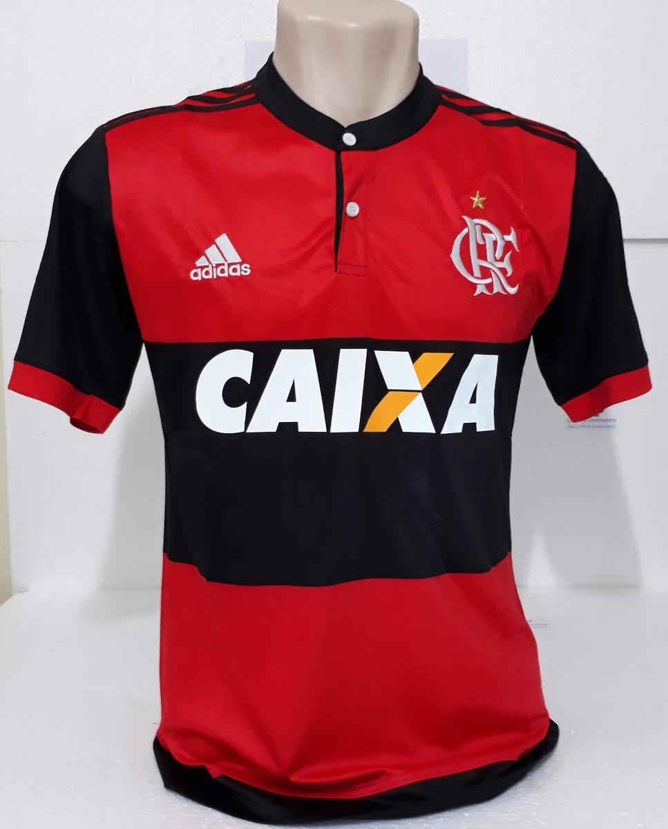 camisa flamengo i 2017 e 2018 s nº torcedor adidas. Carregando zoom. ecf58a5dbd9