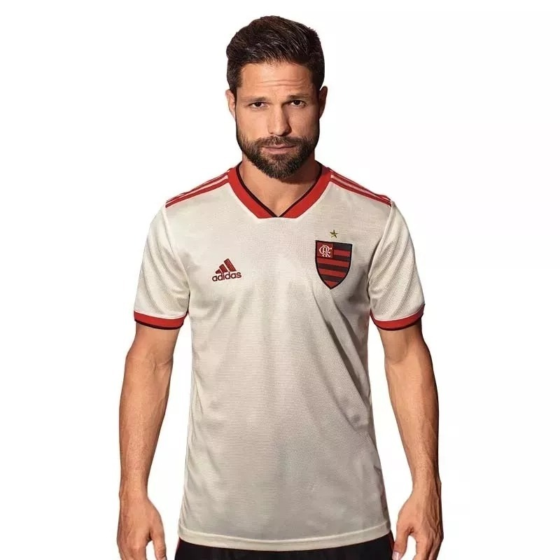 e9640b0813b06 camisa flamengo ii 2018 branca adidas nova frete grátis 2019. 5 Fotos