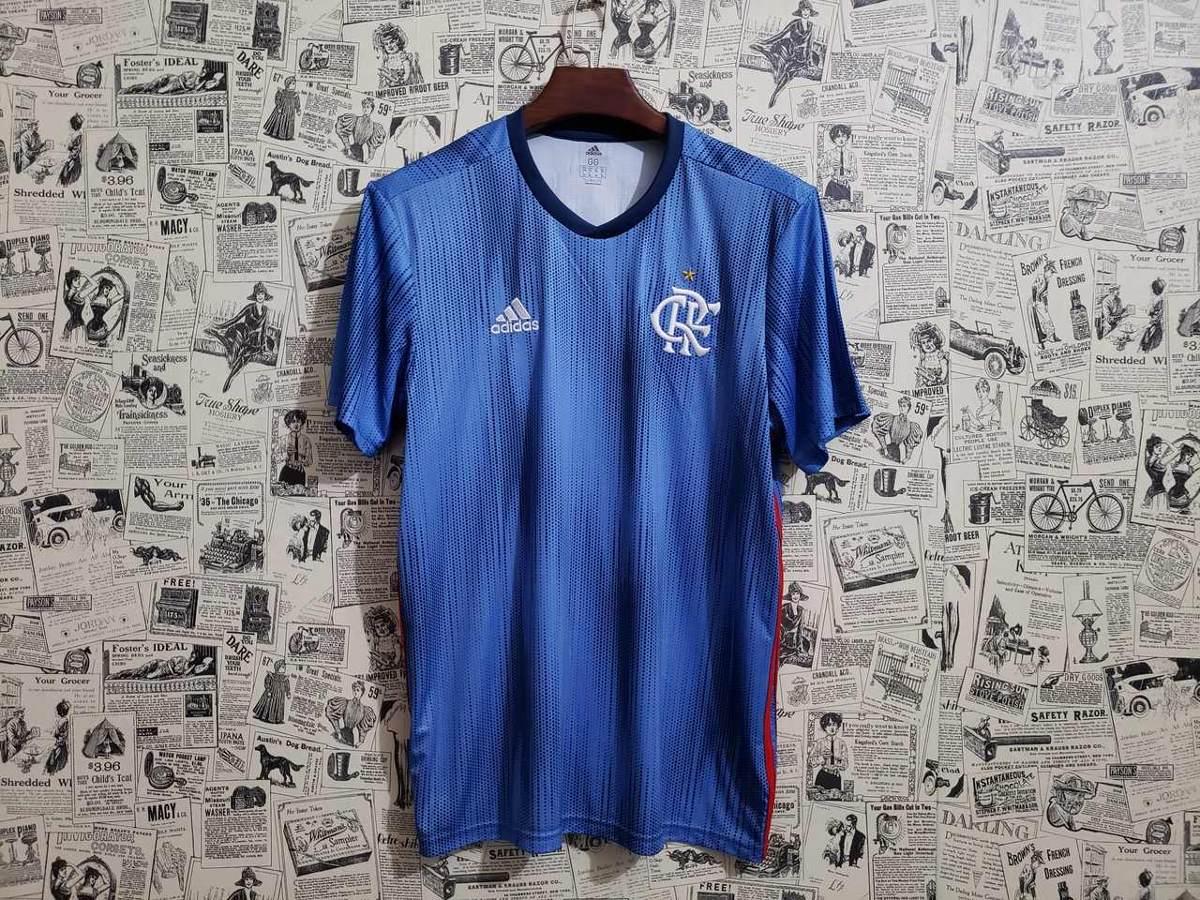 camisa flamengo iii 2018 s n° - torcedor masculina - azul. Carregando zoom. b74e3bec54eb5