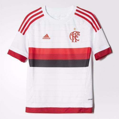 b8b8374d9c ... dec72965064 Camisa Flamengo Infantil Branca 2015 Original adidas-  Netfut - R ... 62634ae12c6 Camisa Flamengo adidas Uniforme 3 ...