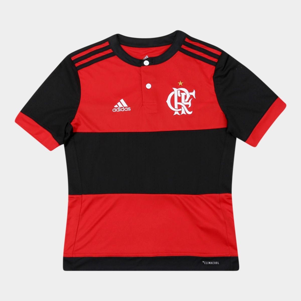 camisa flamengo infantil i 17 18 s nº torcedor adidas. Carregando zoom. 968dd1d4a8c7e