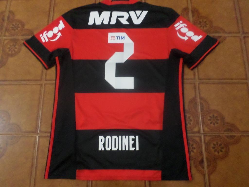 Camisa Flamengo Jogo X Fluminense 2 Rodinei M - R  450 4e0cbe7e61a9b