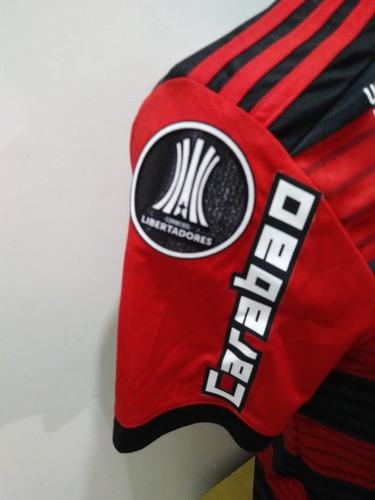 camisa flamengo libertadores 2018 - ronaldo