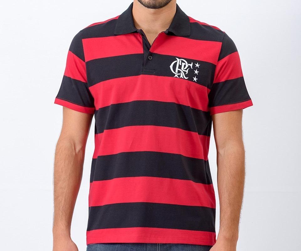 070acf8e00 Características. Marca Braziline  Time Flamengo  Tipo de camisa Polo ...