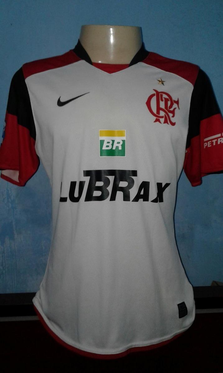 camisa flamengo nike 2008 usada em jogo branca. Carregando zoom. 6dfe45ba46c66