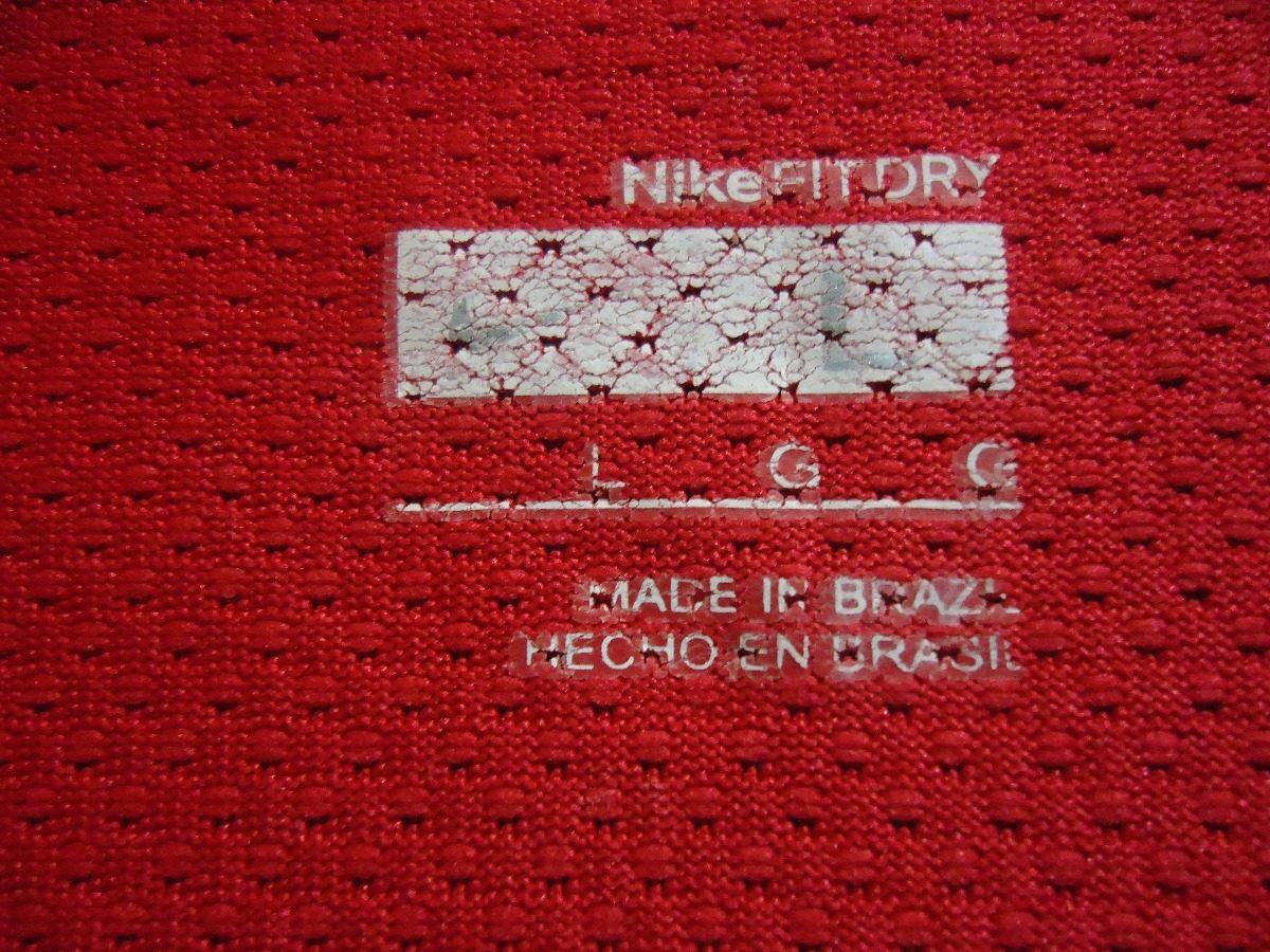20434304ccc3c camisa flamengo ( nike   treino   lubrax ). Carregando zoom.