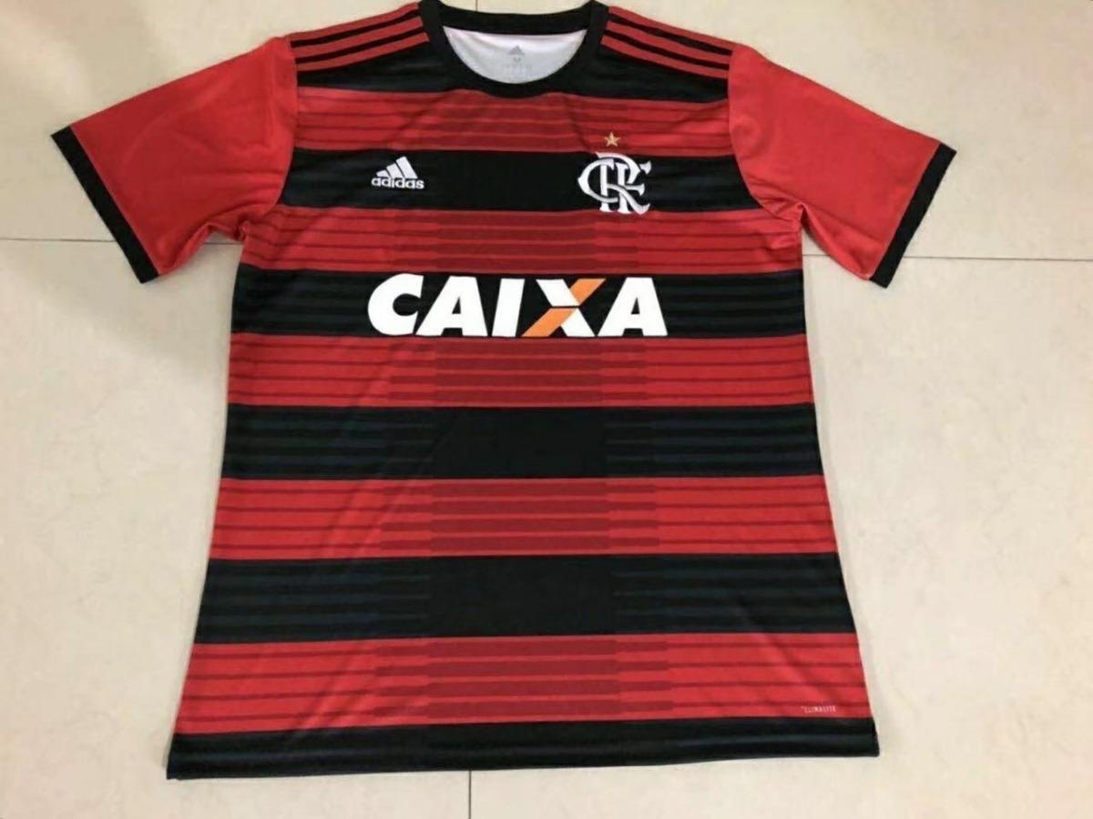 ee2efab01e Camisa Flamengo Oficial 2017 2018 Personalize Com Seu Nome - R  169 ...