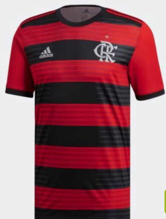 Camisa Flamengo Oficial 2018 2019 adidas Masc fem - R  150 20b42f7409370