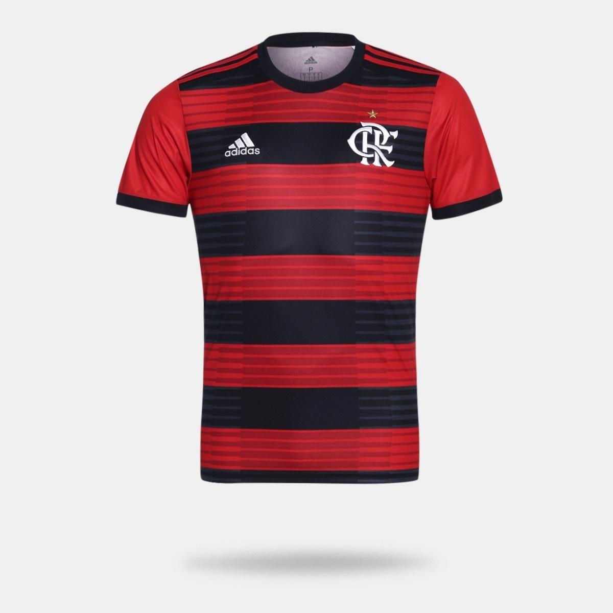 camisa flamengo oficial adidas pronta entrega 2019. Carregando zoom. e4cead25dfc37