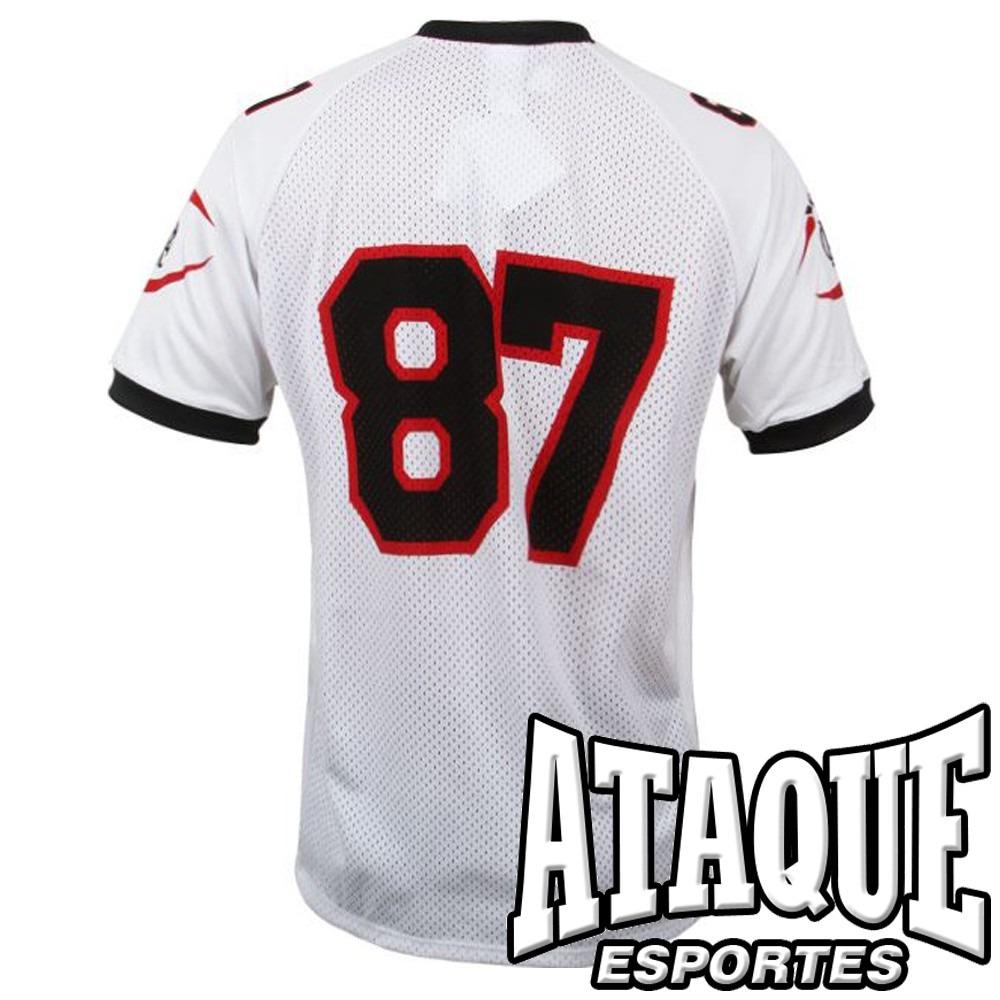812ee95c5f camisa flamengo oficial foot americano 2014-15 bran ou verm. Carregando zoom .