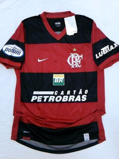 Camisa Flamengo Oficial Nike 2007 2008 Nova! C  Nota Fiscal - R  199 ... ad96a9c654a61