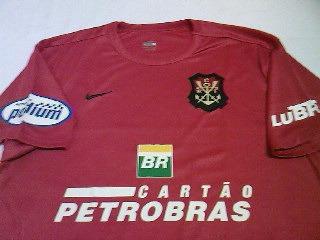 Camisa Flamengo Oficial Nike Escudo Remo 2007 2008 Nova Rara - R  78 ... 92e0f119a546f