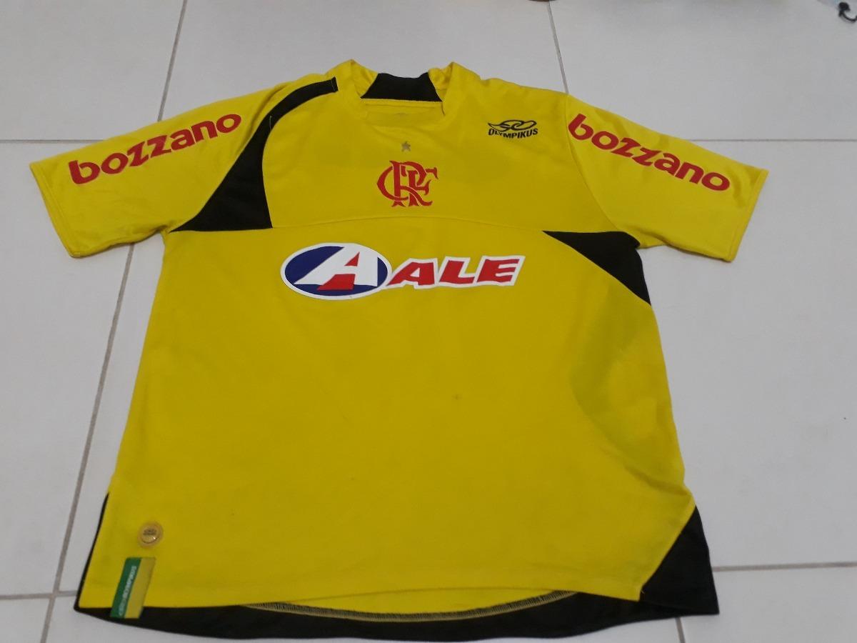 camisa flamengo olympikus amarela  10 adriano. Carregando zoom. 712f2f3f02058