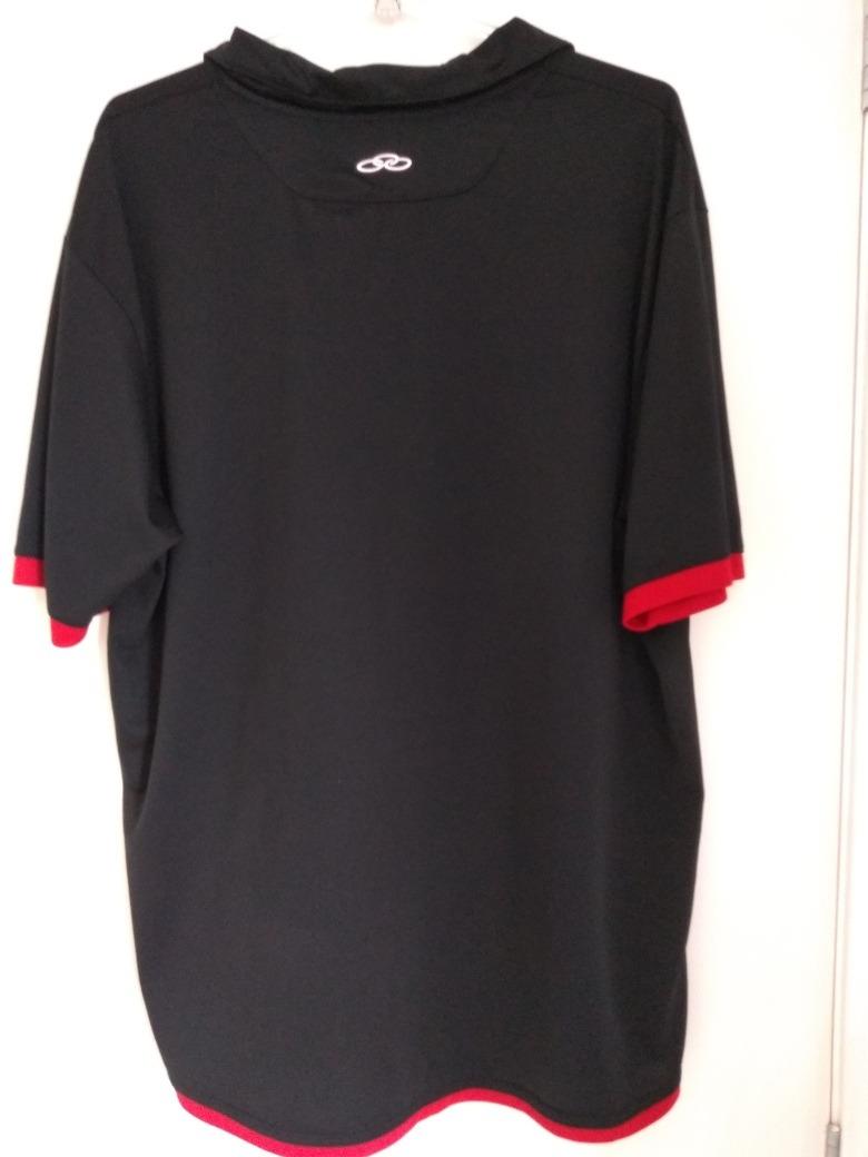 camisa flamengo preta olympikus 2011 uniforme 3 tamanho 3g. Carregando zoom. 39d27c06616ec