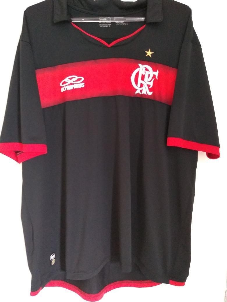 709097d0e7978 camisa flamengo preta olympikus 2011 uniforme 3 tamanho 3g. Carregando zoom.