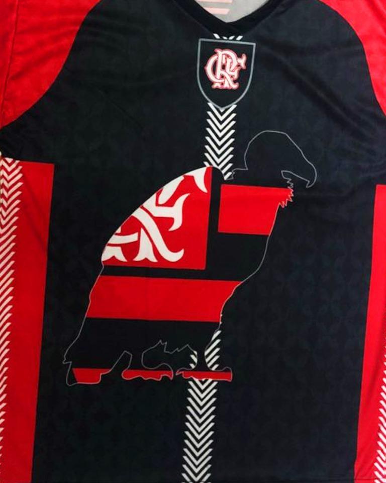 86edfd756 Camisa Flamengo Raça Rubro Negra - A Maior Torcida Do Mundo - R  29 ...