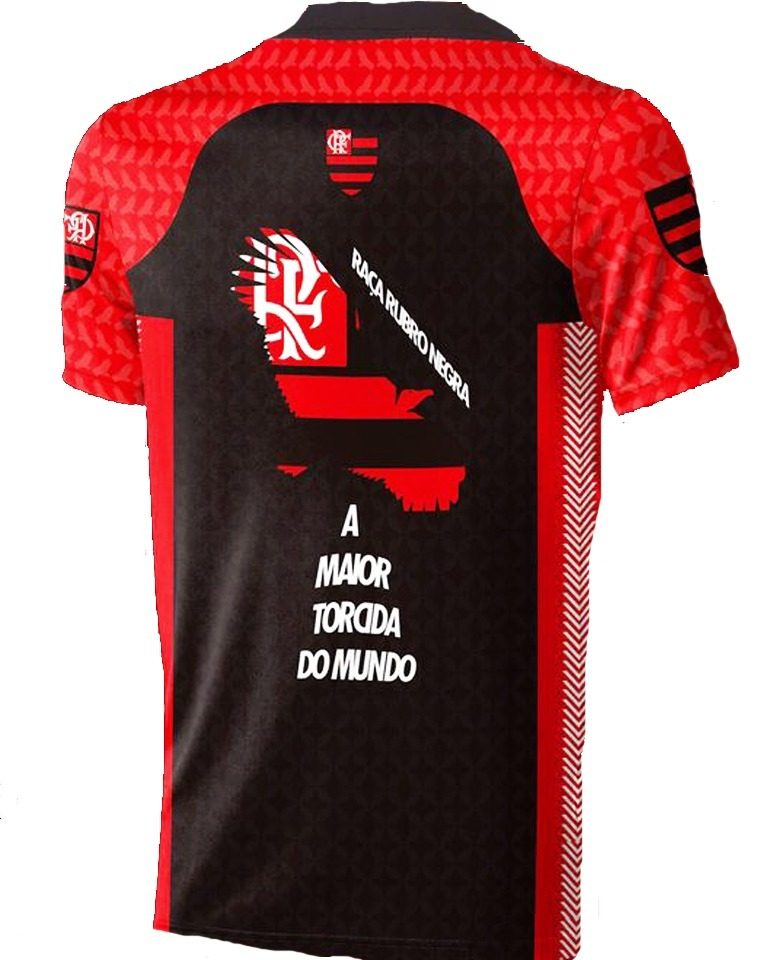 0302200e51de3 Camisa Flamengo Raça Rubro Negra - A Maior Torcida Do Mundo - R  29 ...