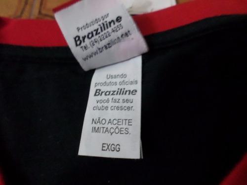 camisa  flamengo  retrô 81  autografada  zico  tamanho  exgg