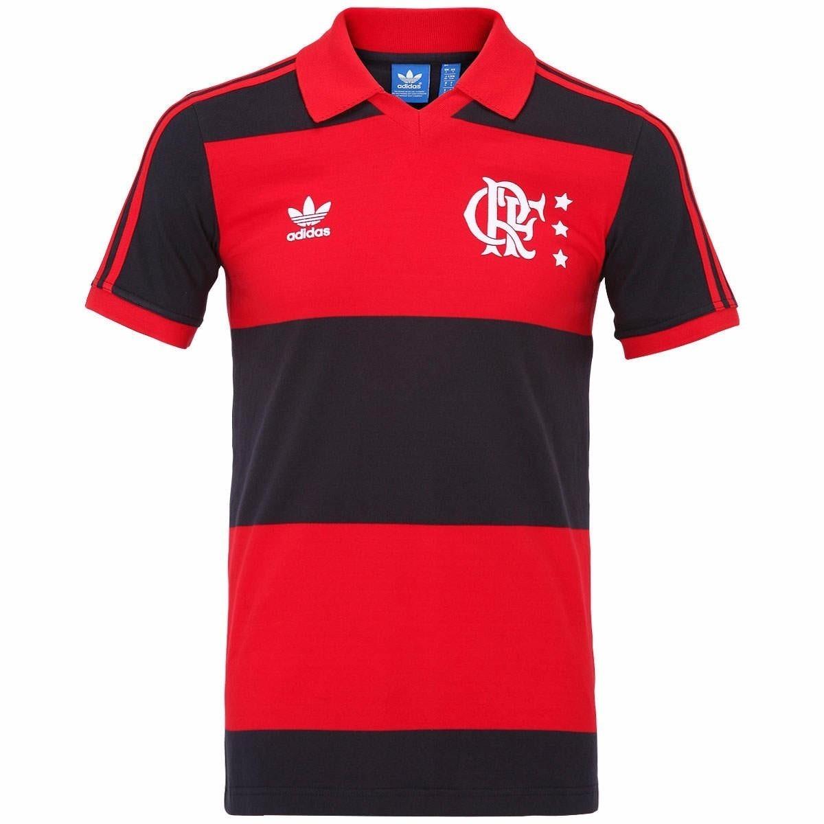 6f0e516647d0e Camisa Flamengo Retrô Zico adidas Originals Oficial - R$ 149,90 em ...