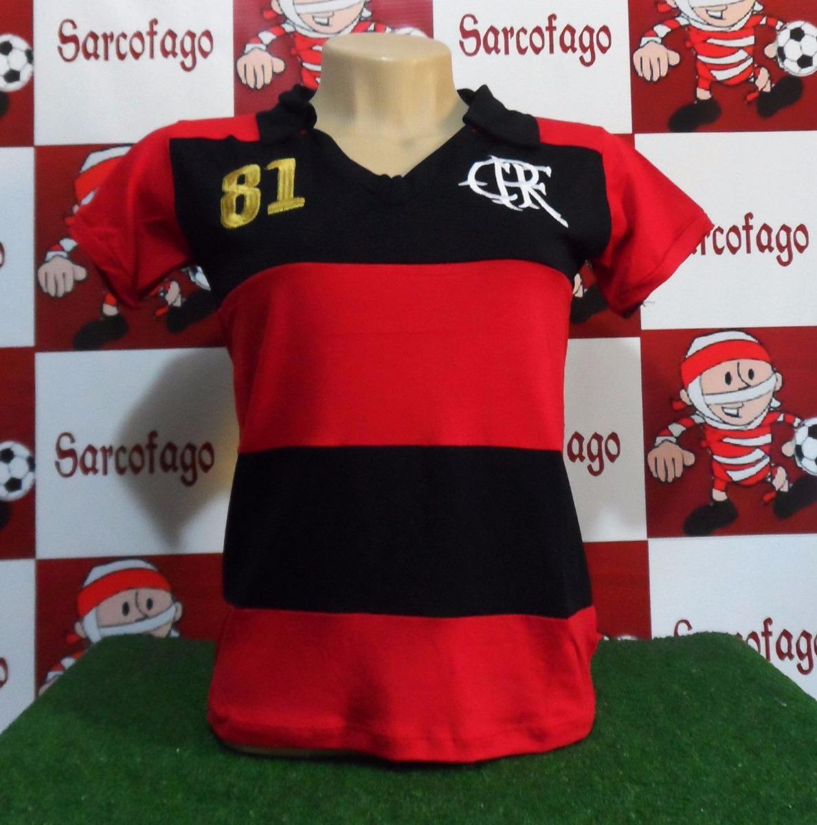 37ba881f6e camisa flamengo retro feminina 81 mundial. Carregando zoom.