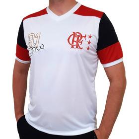 Camisa Flamengo Retrô Mundial 1981 Zico Oficial