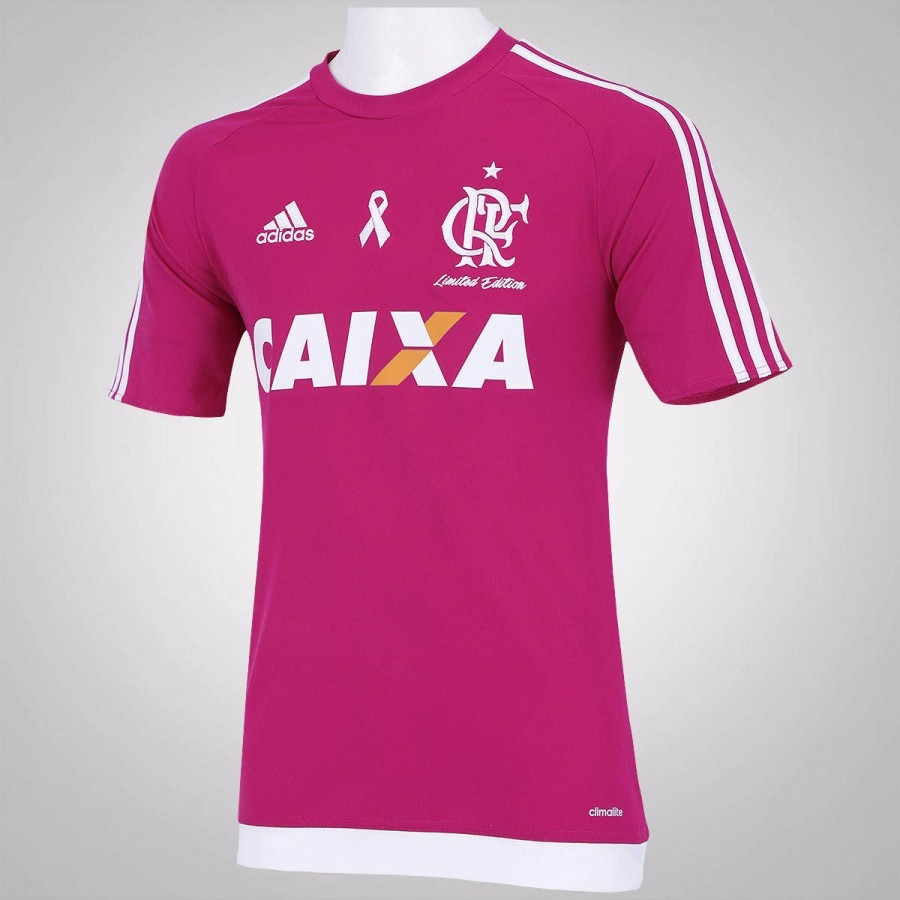 ec7f087215 camisa flamengo rosa personalizada nome e numero. Carregando zoom.
