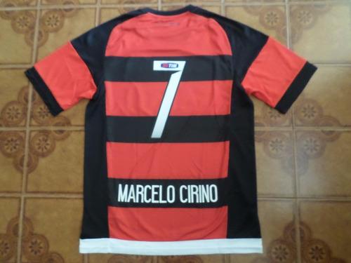 camisa  flamengo  rubronegra   jogo   7   marcelo cirino   g