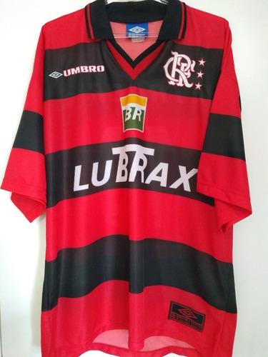 camisa flamengo titular 1999 umbro #10 coleção original - gg
