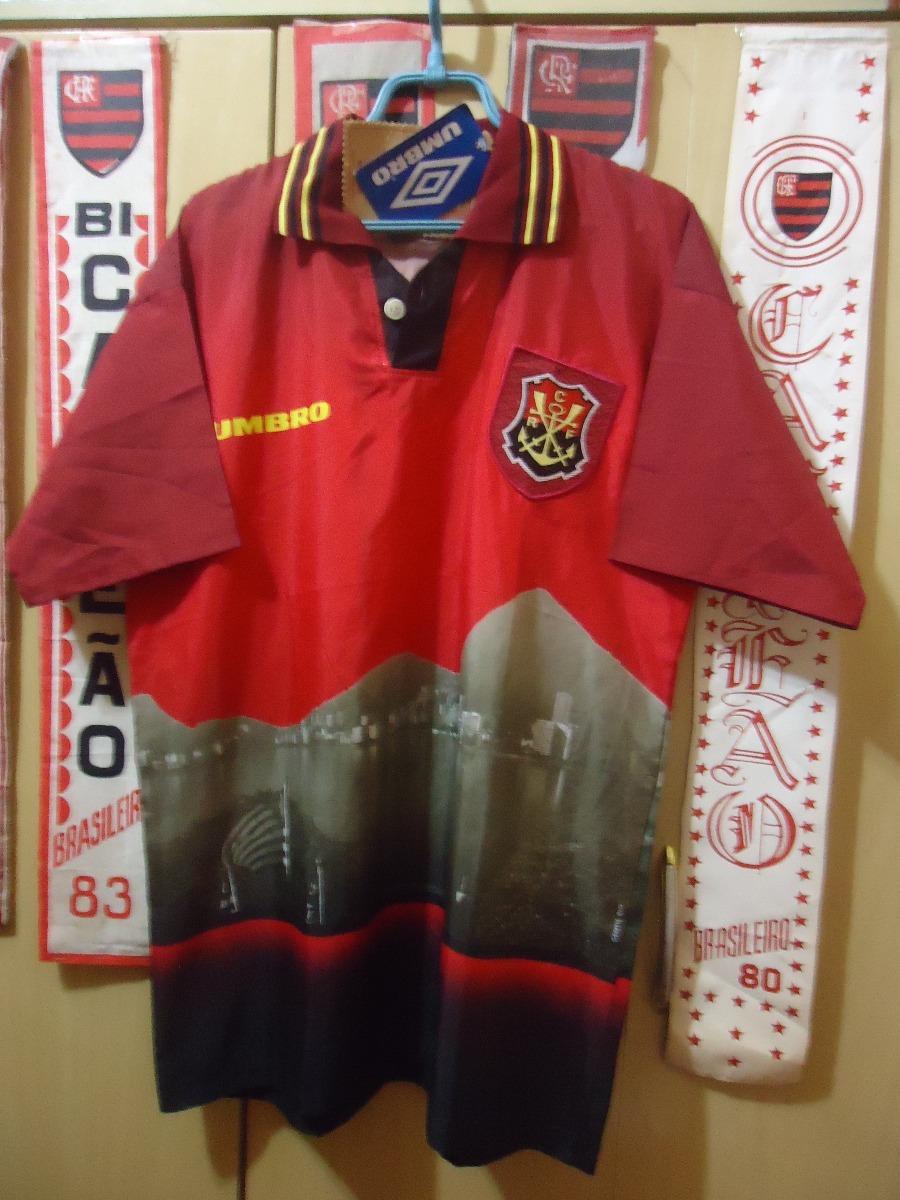 Camisa Flamengo ( Umbro   Vista Da Lagoa ) - R  350 4867bafd54191