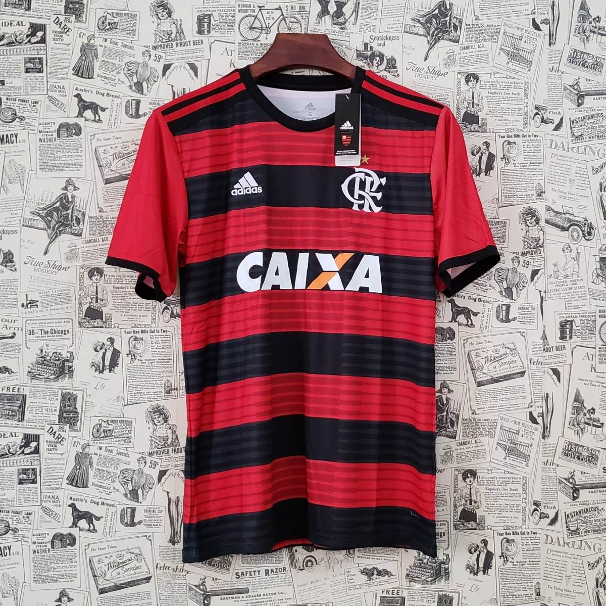 2a5edfdcf3144 camisa flamengo - uniforme 1 -18 19 original frete grátis. Carregando zoom.