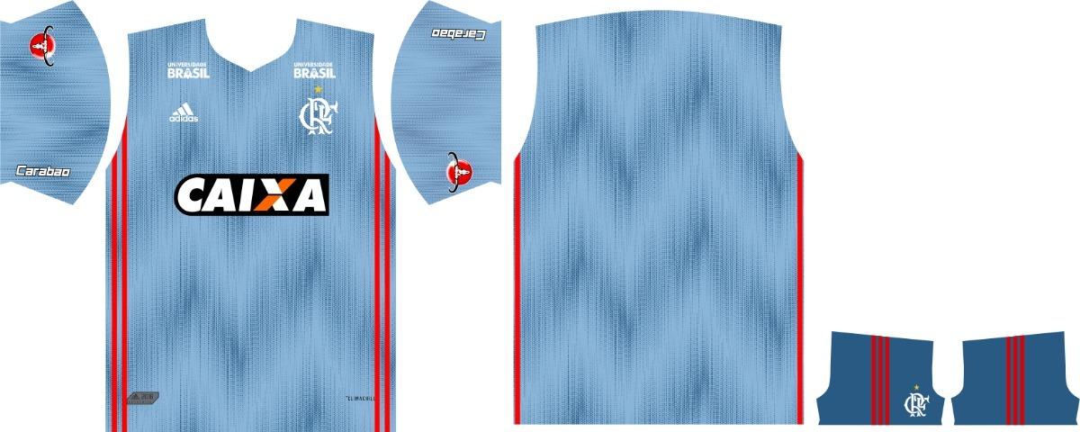 3e40b62ec5c9a camisa flamengo vetorizada 2018 uniforme 3. Carregando zoom.