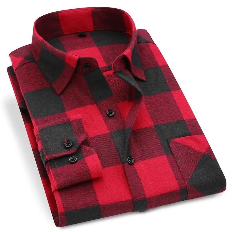 cd8e66615 Camisa Flanela Masculina Xadrez Lenhador Slim Algodão - R$ 120,00 em ...