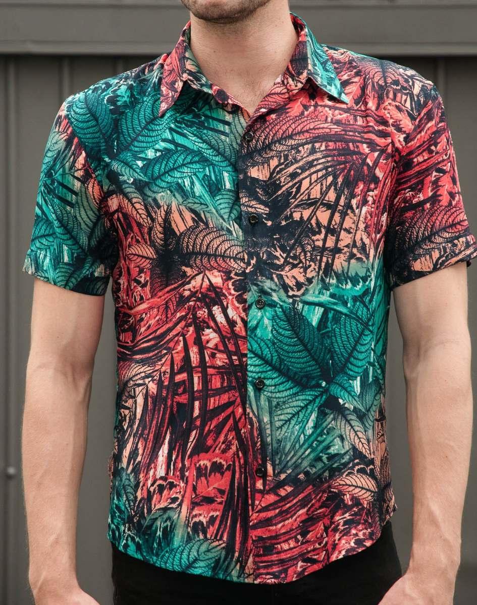 Resultado de imagen para camisa floral