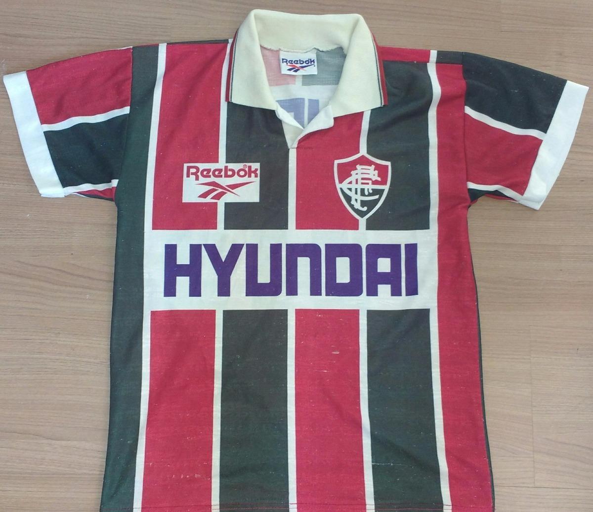 camisa fluminense 1995 campeão carioca reebok original - 95. Carregando  zoom. ba79116825f81