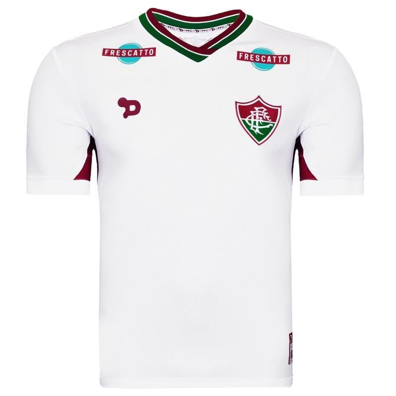 Camisa Fluminense 2 Branca Dry World Torcedor - R  189 b04784e18bb90