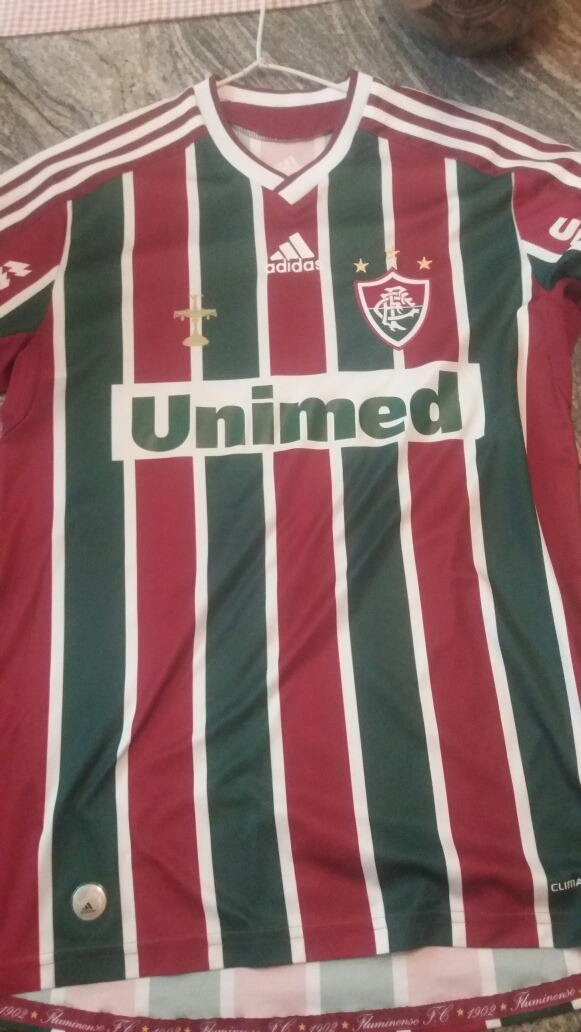 Camisa Fluminense 2009 2010 N°9 Personalizada Fred - R  130 d684692627a5f