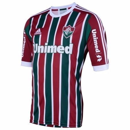 9cc182286d225 Camisa Fluminense 2014   2015 Oficial adidas Extra Grande - R  129 ...