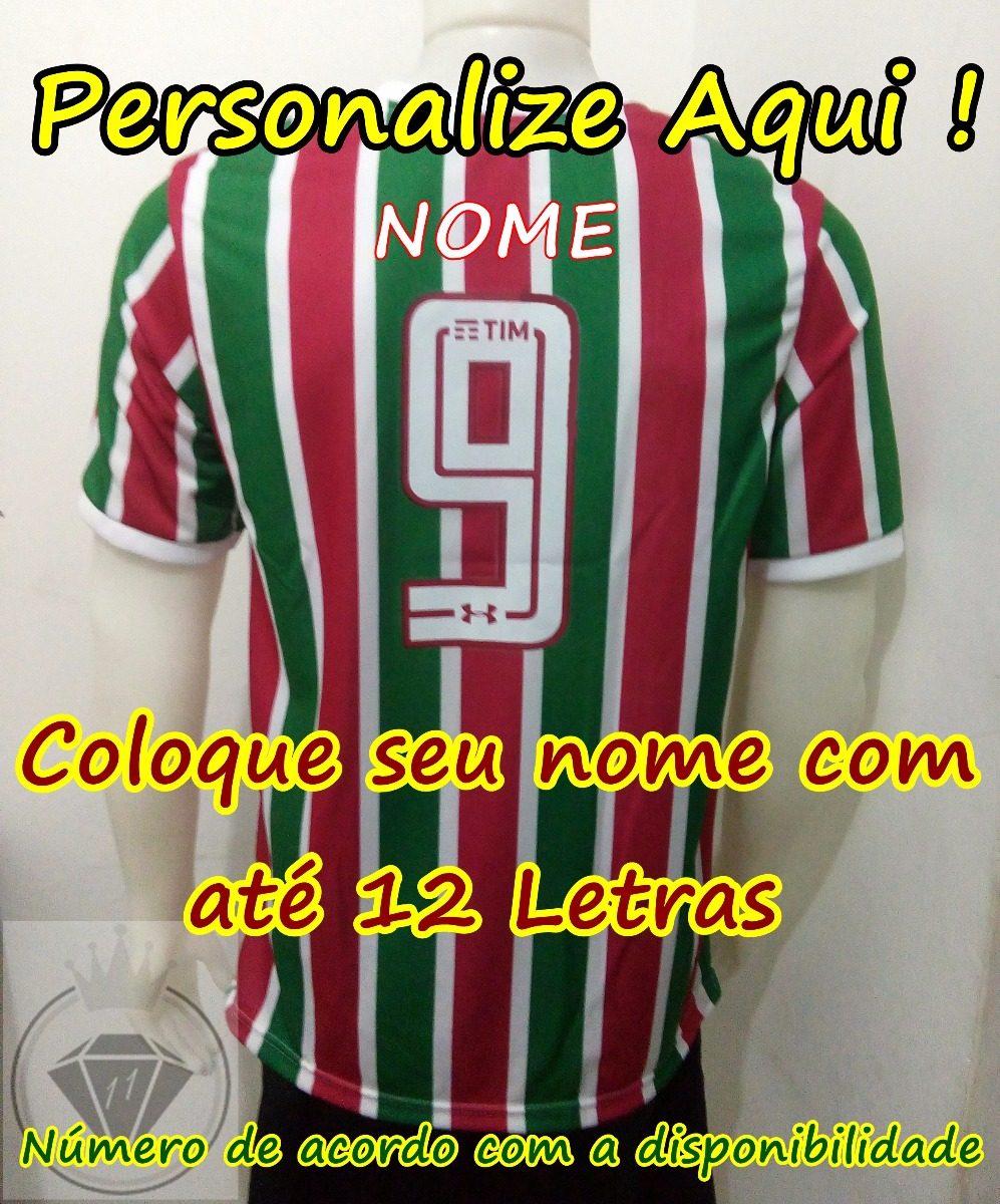 f104acceac Camisa Fluminense 2017-2018 Supporter Torcedor Personalizada - R ...