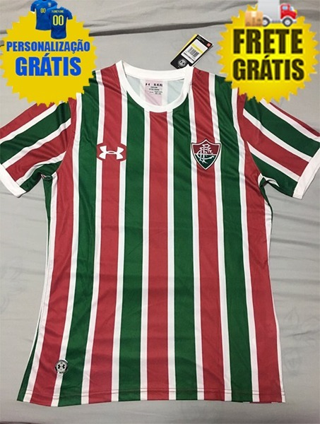 Camisa Fluminense 2018 2019 Personalização E Frete Grátis - R  189 ... c14ec0c03901f