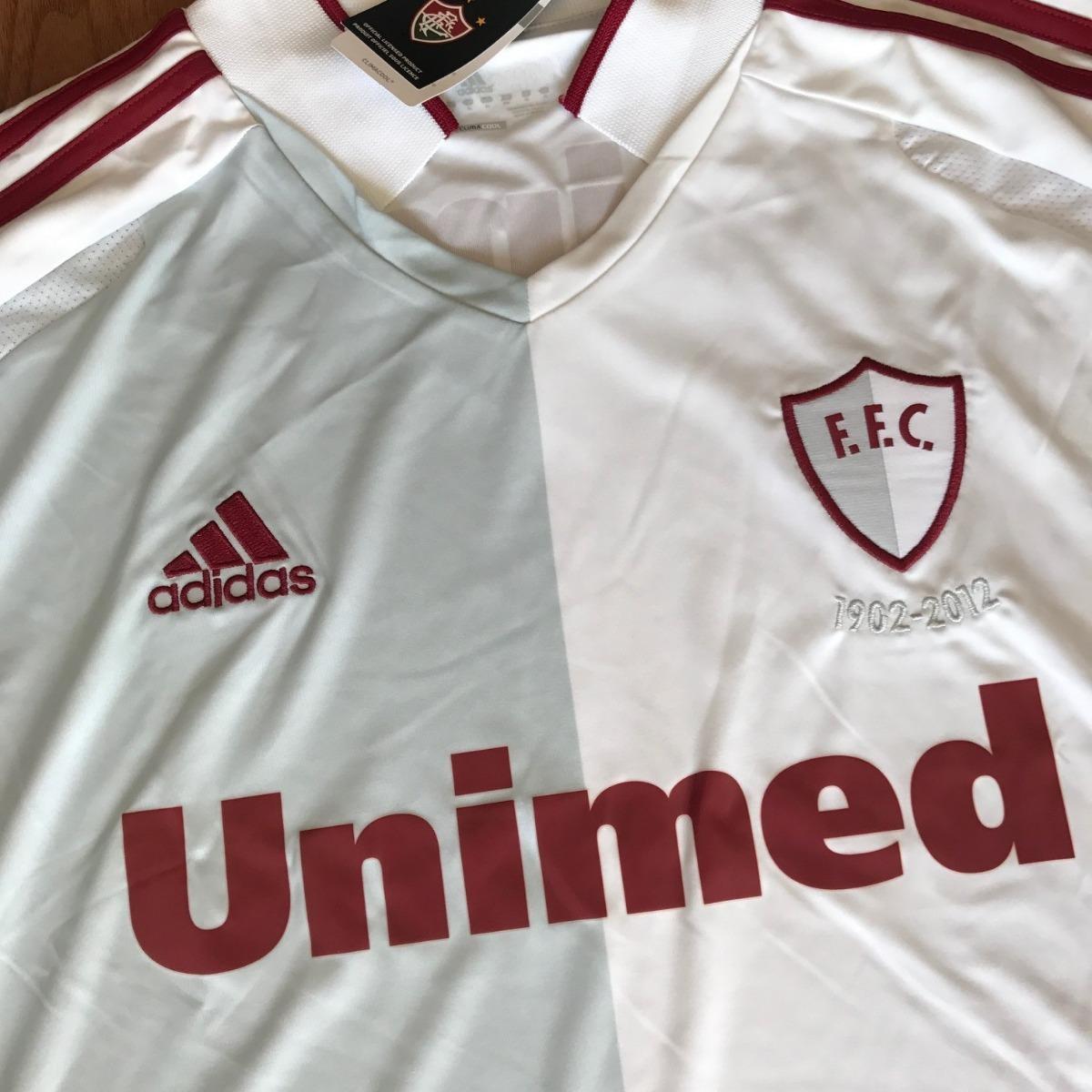 d664cd4e6c Camisa Fluminense adidas 110 Anos Comemorativa 1902 Nova - R  390