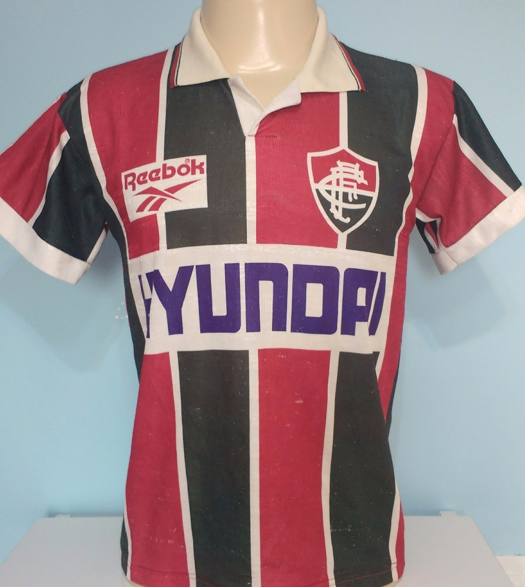 camisa fluminense antiga reebok campeão carioca 1995 - 95. Carregando zoom. 1c46ddf360bc1