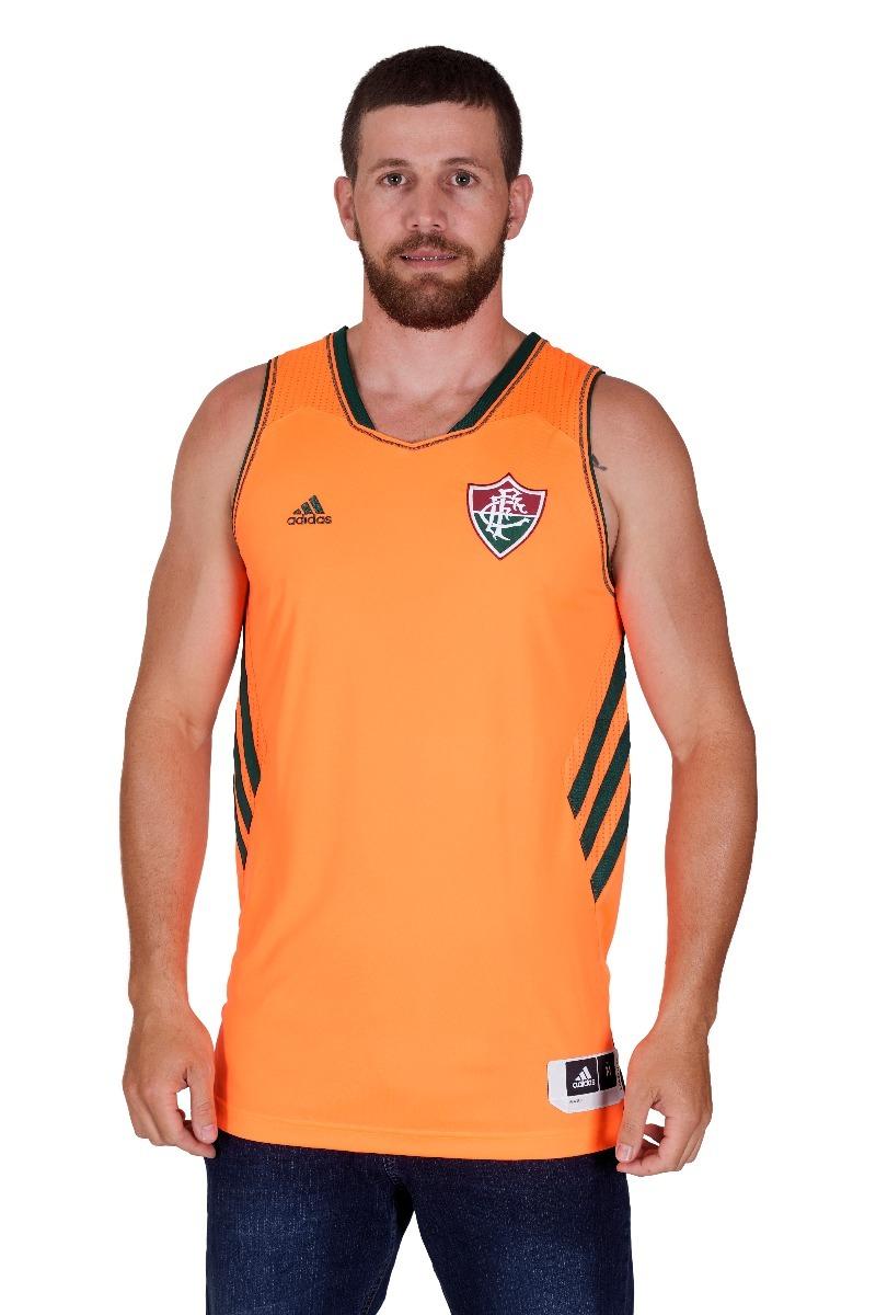 c4f7c930c4 camisa fluminense basquete laranja adidas oficial. Carregando zoom.