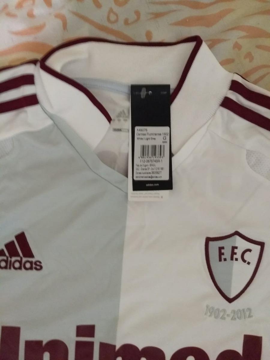 b5bd884ca7 camisa fluminense branca adidas 110 anos comemorativa - nova. Carregando  zoom.